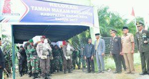 Makam Pahlawan Perang Cumbok Direlokasi dari Latong