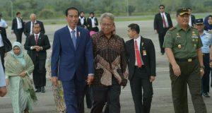 Jokowi Tanyakan Sumur Minyak dan Gas Aceh