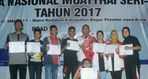 Wapres Cup Muaythai 2017, Aceh Peringkat 7 Nasional