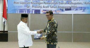 Bener Meriah Raih Penghargaan WTP ke-3
