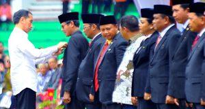 Jokowi Anugerahkan Satya Lencana di Penas-KTNA XV, Aceh Nihil