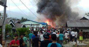 Jelang Buka Puasa 34 Rumah Terbakar di Aceh Tenggara