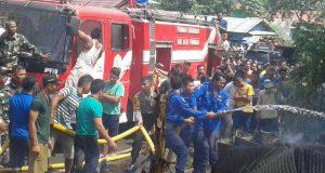 Lagi Kebakaran di Agara, 3 Warga Terluka Bakar
