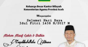 Kakanwil Kemenag Aceh : Mari Hidupkan Ramadhan di Luar Bulan Ramadhan