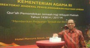 Kakanwil Kemenag Aceh Hadiri Qur'ah Pemondokan Jemaah Haji