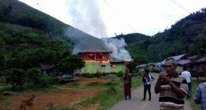 Jelang Ashar, 1 Rumah Terbakar di Lelumu Pegasing