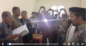 [Video] Detik-detik Penetapan H. M. Amru dan Said Sani Sebagai Bupati dan Wakil Bupati Gayo Lues