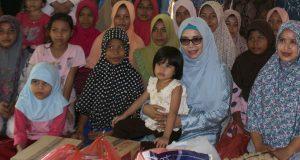 """Ibu Wagub Terpilih Kunjungi Panti """"Kuta Trieng"""" Meulaboh"""