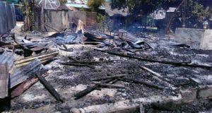 Kebakaran di Pulo Kiton Bireuen Hanguskan Dua Rumah