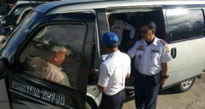 Dishub Aceh Tengah Lakukan Ramp Chek 17 Bus dan 70 L300