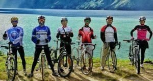 Puasa Bukan Penghalang Atlit Balap Sepeda Aceh Tengah Latihan