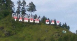 Grafiti Bur Gayo Cacat, Segera Perbaiki!