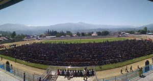 [Foto] Gladi Resik Tari Saman Massal 10001