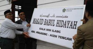 Alam Syuhada Minta Kakanwil Kemenag Aceh Bangun TPQ di Kala Wih Ilang