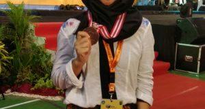 Eva Maisaramita Gayoris Peraih Medali Perunggu Olimpiade Nasional