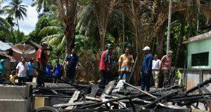 Bupati Bireuen : Dua Rumah Terbakar Segera di Bangun