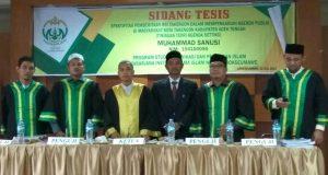 Wartawan Muda Asal Aceh Tengah Raih Gelar Magister