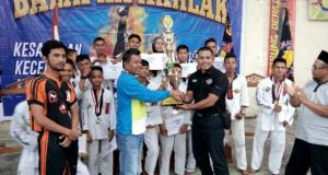 Gayo Lues Juara Umum Kejuaraan Tarung Derajat Piala Bupati Aceh Tengah