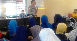 KBO Binmas Polres Aceh Tengah Ajak Karang Taruna Perangi Narkoba