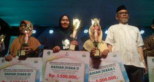Santri SMPT Semayoen Nusantara Juara 2 Hifzil Qur'an Pentas PAI