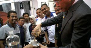 "Pagi Tadi, Ada ""Manual Brewing"" Kopi Arabica Gayo di Pendopo Wagub"