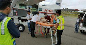 Masyarakat Gayo Manfaatkan Ambulance Udara via Rembele