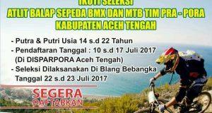 ISSI Aceh Tengah Buka Pendaftaran Seleksi Atlet Balap Sepeda