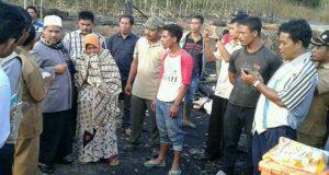 Wabup Abuya Sarkawi Kunjungi Korban Kebakaran Mesidah