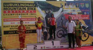 Novi Gayo Sabet 3 Juara di Lubuklinggau MTB International