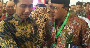 Jokowi Tanya Kondisi Gayo Terkini kepada Pak Nas