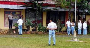 Upacara Bendera di MAN 2 Aceh Tengah Layaknya Upacara Militer