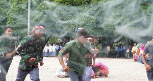 Pertunjukan Seni dan Teater Meriahkan Upacara Bendera HUT RI di Pegasing