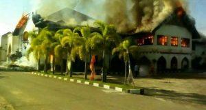 Biro Kampus Unimal Terbakar