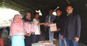Formagalus Salurkan Bantuan Untuk Korban Kebakaran Remukut