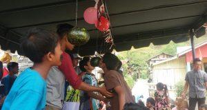 Meriahkan HUT RI Kampung Bamil Nosar Gelar Aneka Lomba