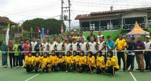60 Petenis Ikuti Turnamen Tenis Kapolres Aceh Tengah Cup