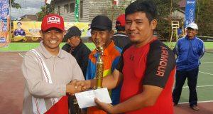 Ini Juara Turnamen Tenis Piala Kapolres Aceh Tengah