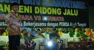 Hadiri Didong Jalu di Jakarta, Wagub Aceh : Ajarkan Anak Berbahasa Gayo