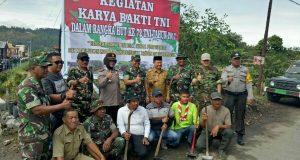 Karya Bakti TNI dan Kemanunggalan di Kampung Lot Kala
