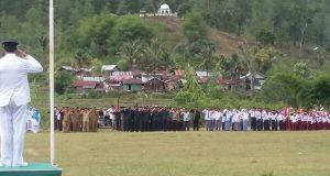 Peringatan HUT ke-72 RI di Linge Semarak
