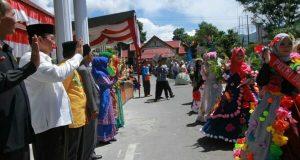 Karnaval Budaya Meriahkan Peringatan HUT Ke-72 RI di Aceh Tengah
