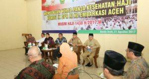Panja Kesehatan Haji DPR RI Tinjau Asrama Haji Aceh
