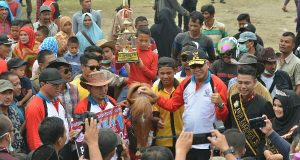 Terkait Usulan Pak Nas Soal Sarana Pacuan kuda, ini Jawaban Wagub Nova Iriansyah