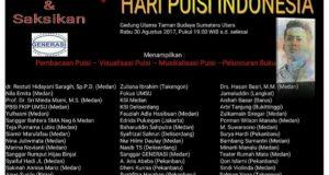 Peringati HPI, Penyair Gayo Akan Tampil di Taman Budaya Medan