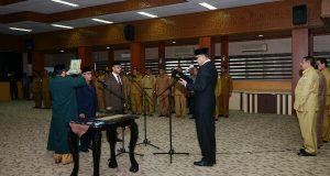 Wakil Gubernur Aceh Lantik Dua Pejabat Eselon II