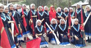 Marching Band MAN 2 Aceh Tengah Tampil di Linge