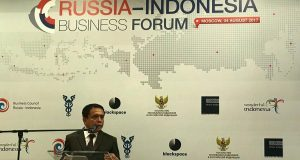 Gubernur Aceh Promosi Investasi di Moscow
