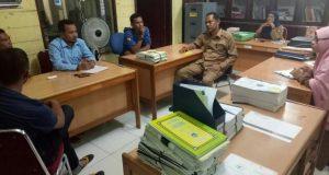 Pertanyakan Audit Dana Desa, Warga Sawang Sambangi Inspektorat Pijay