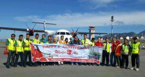 19 Agustus 2017 ; 1St Anniversary Fligth Wings Air Kualanamu-Rembele
