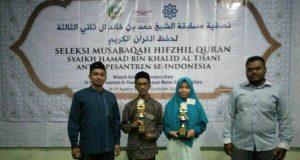 Dua Santri Insan Qurani Wakili Aceh-Sumut ke Jakarta